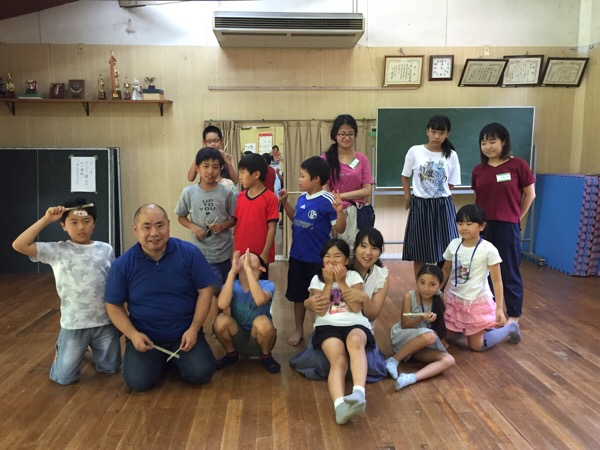 ナツイエ(2016) 7日目 ~竹で箸をつくる&スイカ割りの日~